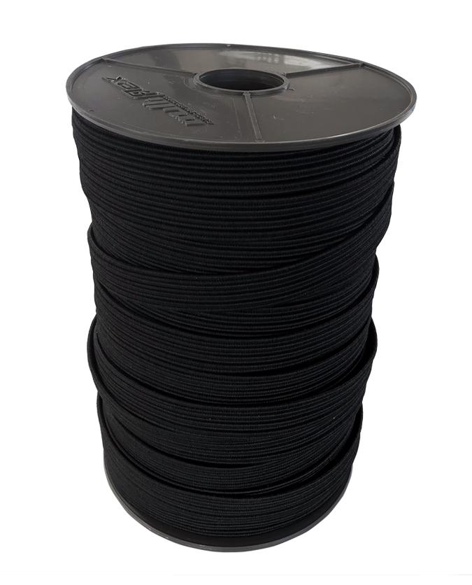 Gummiflachband elastisch 16mm - 100 Meter Rolle