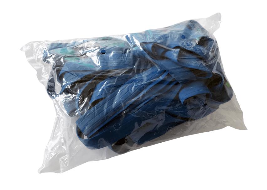 Paletten-Spannbänder 10 Stück Blau 1200 x 800 extra stark